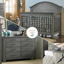 gray nursery furniture. dolce babi lucca collection gray nursery furniture i