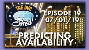Dvc Availability Chart Predicted Dvc Booking Patterns Studios 1 Bd 2 Bd Charts