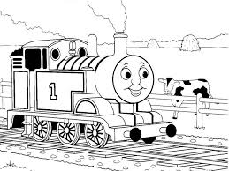 Coloring Pages Thomas Tank Engine James Train Friends Coloring
