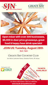 snj great networking mixer at greate bay