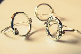 diy fancy wire jewelry diy wire wrapped circle ring tutorial
