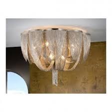 872469 minerva 10 light ceiling light nickel
