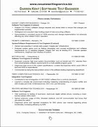 Testing Resume Format For Experienced New Ideas Of Sample Basic