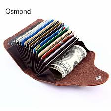 Osmond Male <b>Purse</b> Bank Business-Card-Holder <b>Wallet Men</b> RFID ...