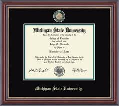 msu diploma frame alternative views