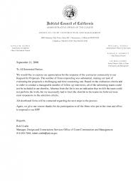 sample cover letter for response to request proposal cover construction management cover letter