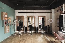 Hair Cutting Salon Interior Design Kronverk On Behance Barber Shop Salons Interior Design