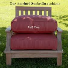 exclusive ideas deep seating replacement cushions for outdoor furniture custom patio banker wire project sunbrella lounge