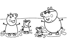 Nieuw Kleurplaat Peppa Pig Verjaardag Krijg Duizenden