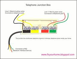 telephone jack wiring diagram floralfrocks rj11 wiring at Wiring Diagram For Telephone Jack