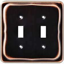medium size of amerelle chelsea wall plates aged bronze steps plate brushed nickel solid oak menards