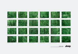 print ad leo burnett. Wonderful Burnett Jeep Print Ad  Forests With Print Ad Leo Burnett T