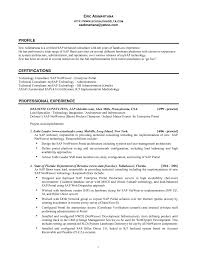 Download Sap Basis Administration Sample Resume
