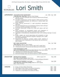 resume template for teachers. Cv Template Education Section Resume Teaching Teachers Example