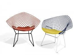 Knoll Harry Bertoia Two-Tone Diamond Lounge Chair - Modern Planet