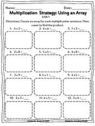 1000+ ideas about Multiplication Worksheets on Pinterest ...Multiplication: Using Arrays Worksheets