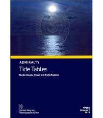 Np202 Admiralty Tide Tables Att Volume 2 North Atlantic