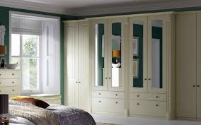 contemporary fitted bedroom furniture. Contemporary Fitted Bedroom Furniture With White Cupboards Mirror Doors P