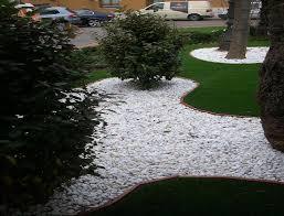 Galet Blanc Pour Jardin 1000kg Galets D Coratifs Home Pro Fr Cailloux Et Graviers Pour Am Nagement De Jardin