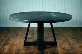 concrete round table and benches outdoor dining furniture