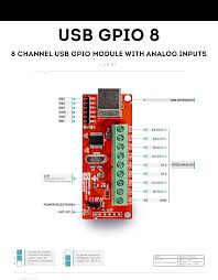 8 channel usb gpio module analog inputs numato lab wiring diagram