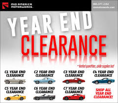 mid america motorworks year end clearance corvette s news lifestyle