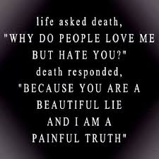 Death Is A Beautiful Thing Quotes