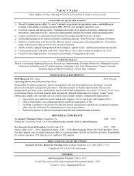 Surgical Nurse Resume Medical Ward Nurse Resume Fresh Medical Surgical Nurse