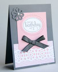 Elaines Creations Elegant Birthday Card