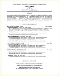 Hybrid Resume Template Custom Hybrid Resume Template Word Teachengus