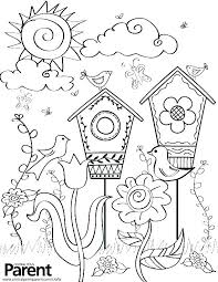 Spring Coloring Spring Coloring Pages Color By Code Kindergarten