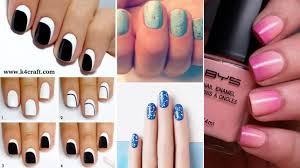 15 Simple Nail Art Designs for Lazy Girls - Step by step - K4 Craft