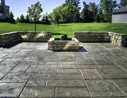 backyard concrete patio ideas octeesco