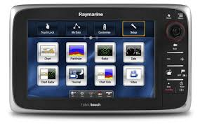 Raymarine E95 9 Inch Touchscreen Multi Function Display With Lighthouse Us Coastal Charts