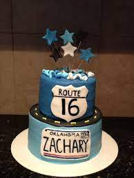 You don't look aged one bit. Easy To Make 16th Birthday Cakes Boys 16th Birthday Cake Twin Birthday Cakes Cool Birthday Cakes