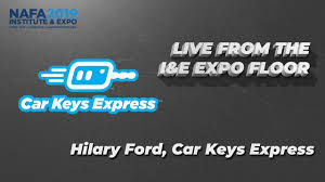 Live From The I&E Expo Floor: Hilary Ford from Car Keys Express - YouTube