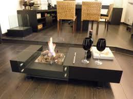 freestanding ethanol fireplace