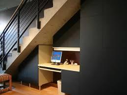 basement stairs ideas. Desk Under Stairs Basement Ideas A