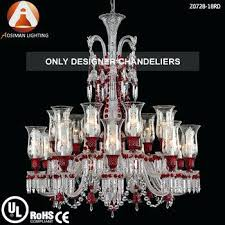 red chandelier crystals baccarat style light chandelier crystals in wine red color home ideas ph