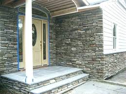 brick veneer siding stone panels thin exterior installation facade how much does cost faux fac