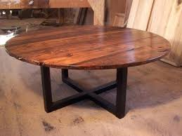 creative of inch round coffee table best images about on industrial metal 48 x