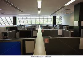 office with cubicles. Empty Office With Separate Units - Stock Image Cubicles C
