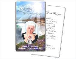 Funeral Prayer Cards Funeral Prayer Cards Templates Cute Images Of Memorial Template