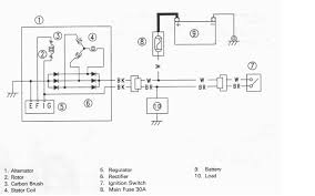 lucas acr alternator wiring lucas image wiring diagram lucas 15 ac alternator wiring diagram wiring diagram on lucas acr alternator wiring