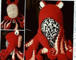 Crochet Octopus Hat Pattern Awesome Crochet Octopus Hat Etsy