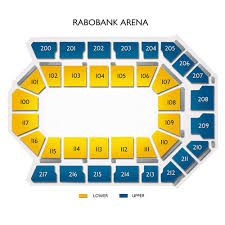 Seating Chart Rabobank Arena Bakersfield Rabobank Arena Tickets