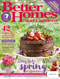 Small Picture Better Homes and Gardens Australia Magazine October 2017