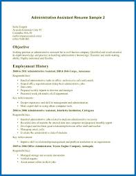 Objective For Resume Office Clerk Examples Assistant Sample Clerical