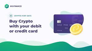 credit or debit card using eo finance