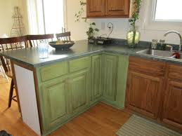green kitchen cabinets designs innovative painted used chalk paint